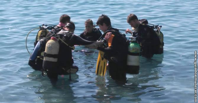 Buceo Submarinismo Apnea en Almuñécar.