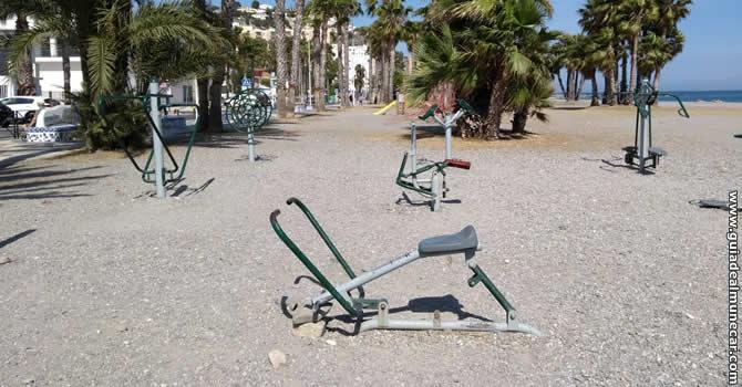 Gimnasio Público Playa Puerta del Mar, Almuñecar.