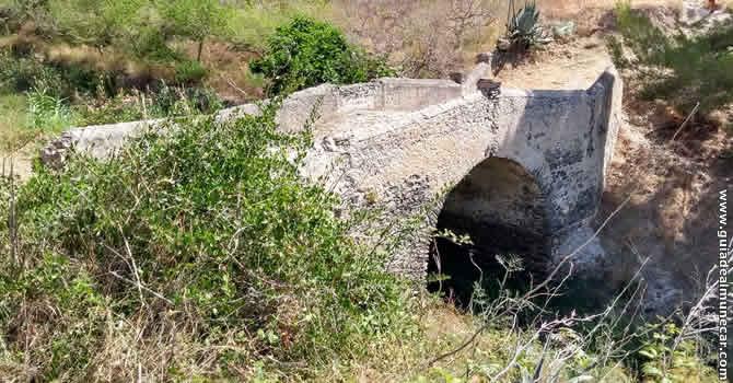 Puente Romano de Cotobro, Almuñécar.